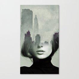 Ny again Canvas Print