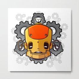 Brass Munki - Bot015 Metal Print