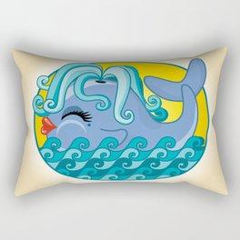 Sexy Whale Rectangular Pillow