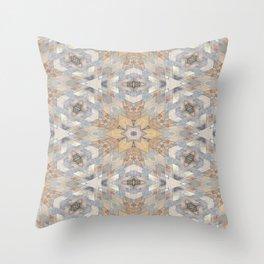 The Alamo Wall Kaleidoscope 6394 Throw Pillow