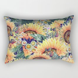 Summer Garden 1 Rectangular Pillow