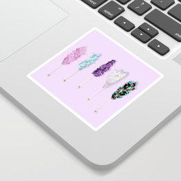 Mineral Rock Candy Sticker