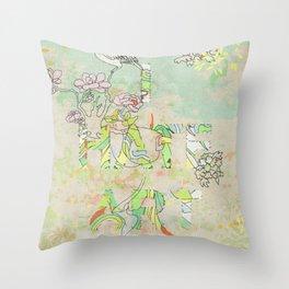 I HATE ART Throw Pillow