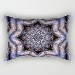 Luxurious Fractal Rectangular Pillow