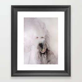 I don't want your love unless you know that I am repulsive, and love me even as you know it. (8) Framed Art Print