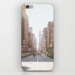 New York City Streets iPhone Skin
