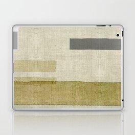 """Burlap Texture Natural Shades"" Laptop & iPad Skin"