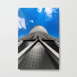 Cooling Tower Metal Print