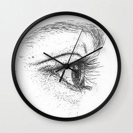 Eye yi yi Wall Clock