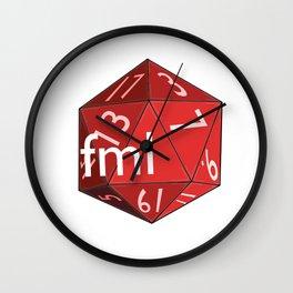 Critical Miss Wall Clock