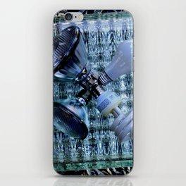 Burn-out iPhone Skin