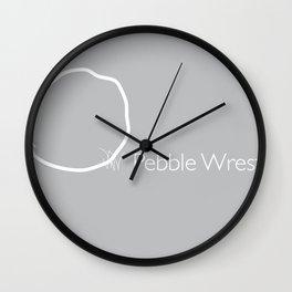 Pebble Wrestler Wall Clock