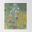 Flower Garden - Gustav Klimt by viktoriusart