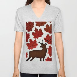 Connections in Nature Unisex V-Neck