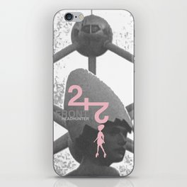 "Front 242 ""Headhunter"" Single Artwork Concept iPhone Skin"