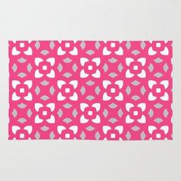 Kerstin - pink & grey Rug