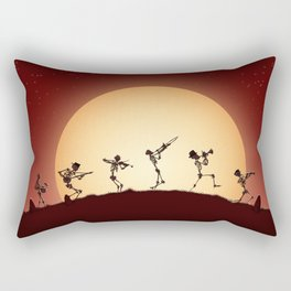 Dixieland Skeletons Rectangular Pillow