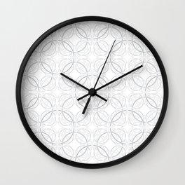 Rondo Grey Wall Clock