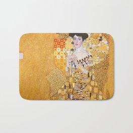 Gustav Klimt - Portrait of Adelle Bloch Bauer Bath Mat