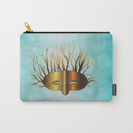 Green Man Slumbers Carry-All Pouch