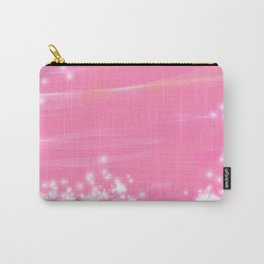 Pink Sparkles Carry-All Pouch