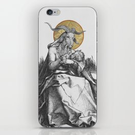 The Wet Nurse of the Woods iPhone Skin