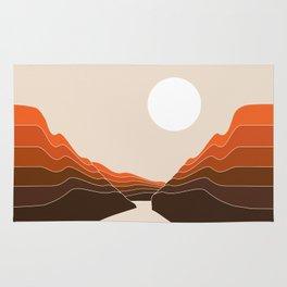 Desert Dusk Ravine Rug