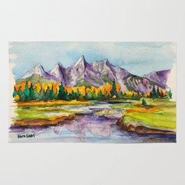 Grand Teton National Park Rug