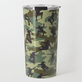 Skater Camo WOODLAND Travel Mug