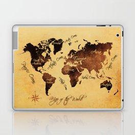 world map 75 Laptop & iPad Skin