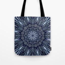 Winter mood mandala Tote Bag