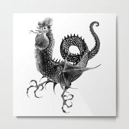 Coquatrix Metal Print