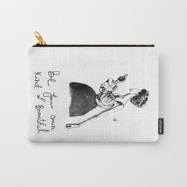 Cigarette Girl with Bow Dress Carry-All Pouch