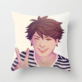 Babekawa Throw Pillow