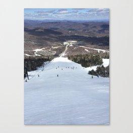 Skiing Superstar, Killington Canvas Print