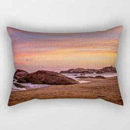 Sunset over Sri Lanka Rectangular Pillow