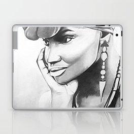 African Woman Laptop & iPad Skin