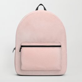 Seashell Pink Watercolor Backpack