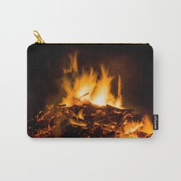 Fire flames Carry-All Pouch