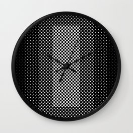 Concentric dotted dots, squared, concentric two times, rectangulars etc... Wall Clock