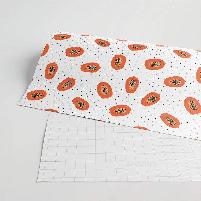 Papaya Wrapping Paper