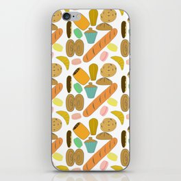 Patisseries de France French Pastries and Breads iPhone Skin