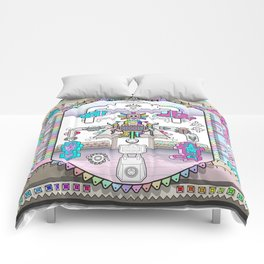 perspective_blue_pink_wallpaper_large Comforters