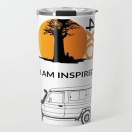 I AM INSPIRED TROOPY Travel Mug