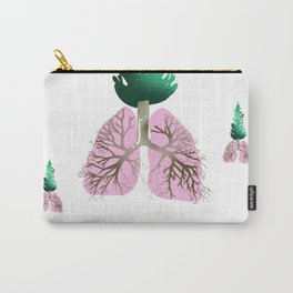 organic lungs Carry-All Pouch