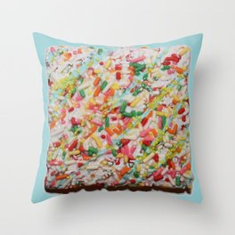 SPRINKLE COOKIE BY ROBERT DALLAS Throw Pillow