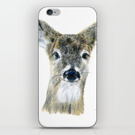 Doe Eyes by Teresa Thompson iPhone Skin