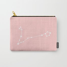 Pisces Star Sign Soft Pink Carry-All Pouch
