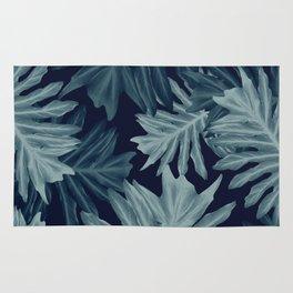 Philo Hope - Tropical Jungle Leaves Pattern #5 #tropical #decor #art #society6 Rug