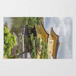 Japan Golden Pagoda Rug